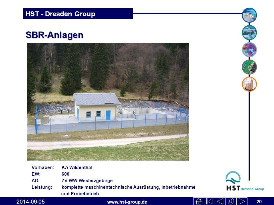 SBR-Anlagen 2017-04-06 Vorhaben: KA Wildenthal EW: 600