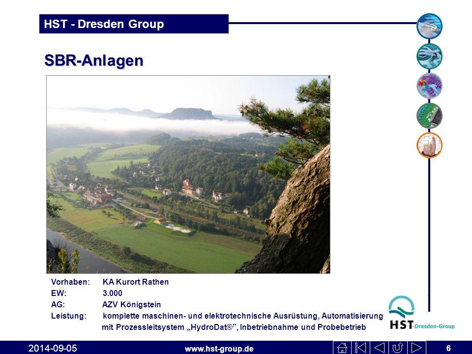 SBR-Anlagen 2017-04-06 Vorhaben: KA Kurort Rathen EW: 3.000