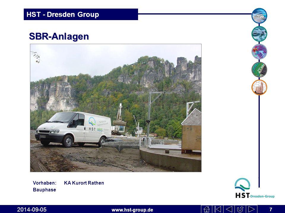 SBR-Anlagen Vorhaben: KA Kurort Rathen Bauphase 2017-04-06