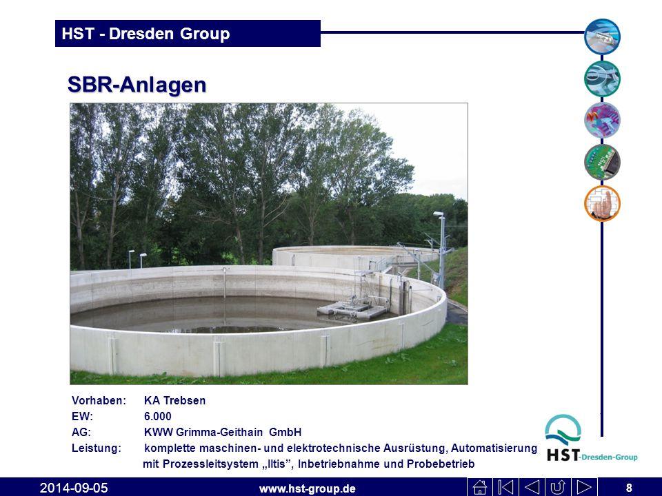 SBR-Anlagen 2017-04-06 Vorhaben: KA Trebsen EW: 6.000