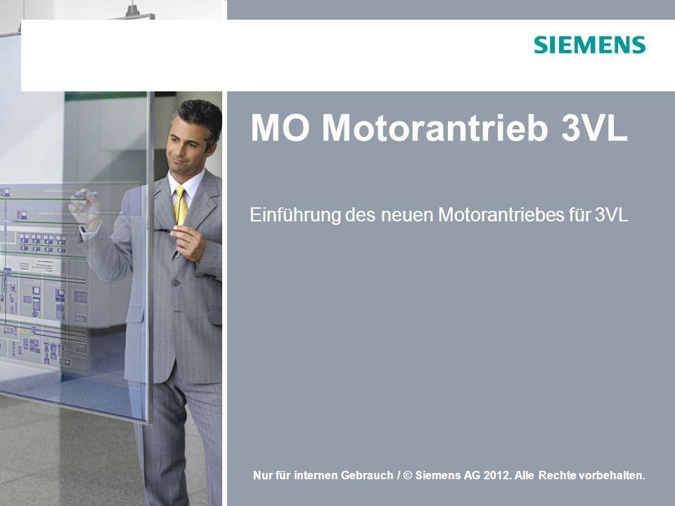 Einführung des neuen Motorantriebes für 3VL