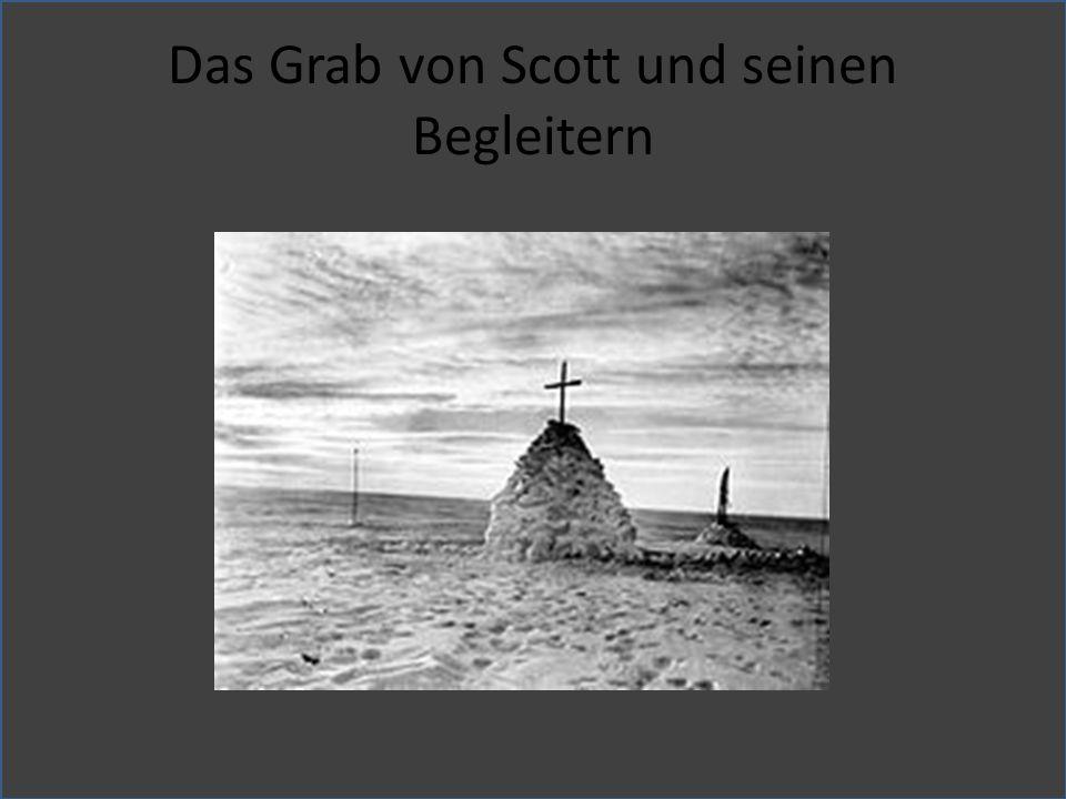 Das Grab von Scott und seinen Begleitern