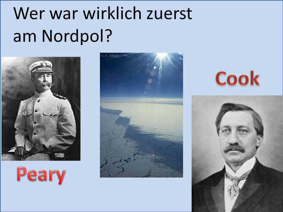 Wer war wirklich zuerst am Nordpol