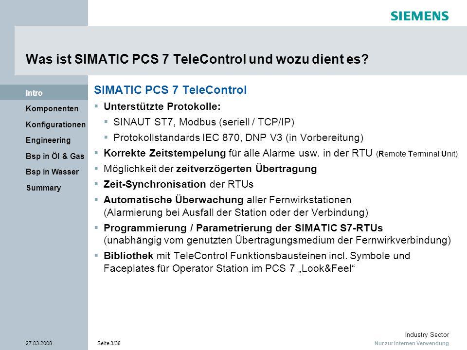 Was ist SIMATIC PCS 7 TeleControl und wozu dient es