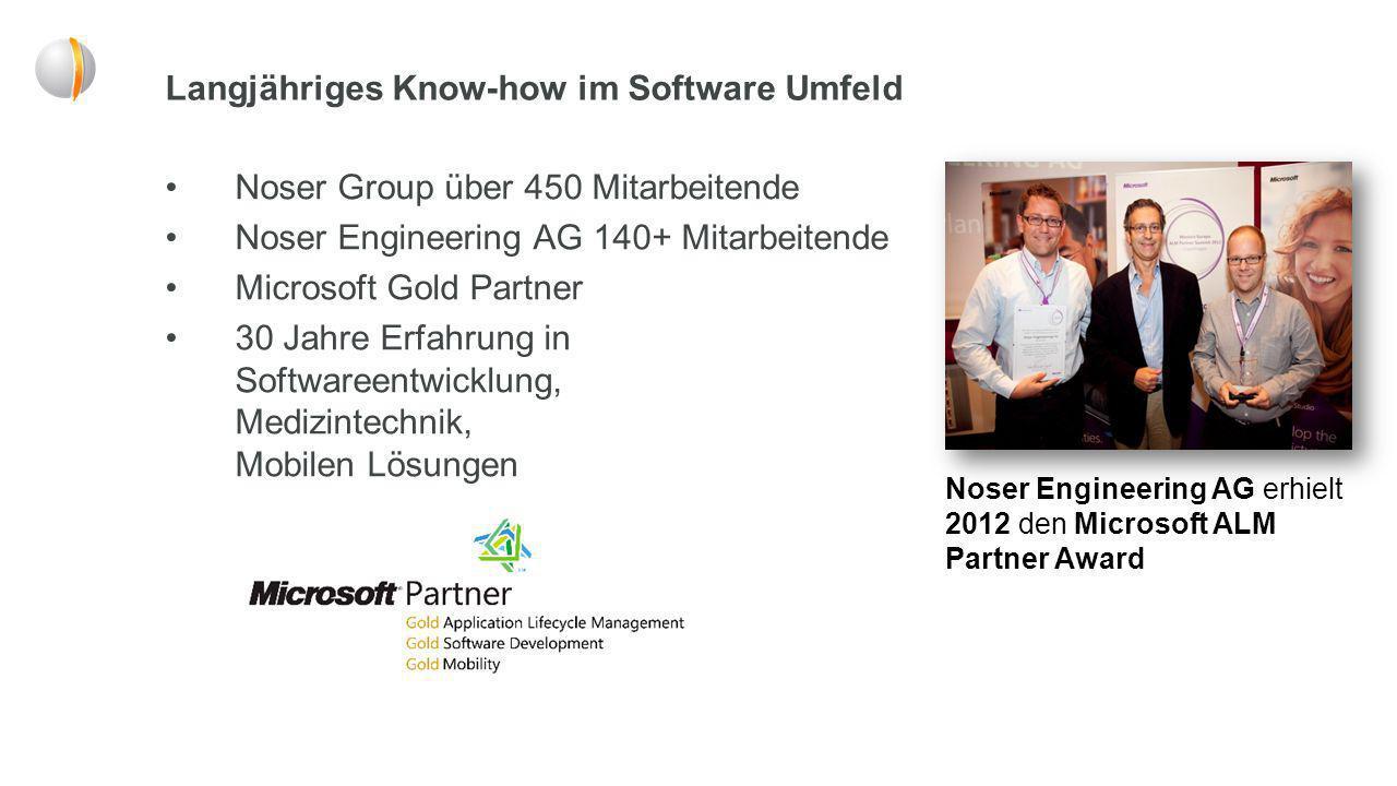 Langjähriges Know-how im Software Umfeld
