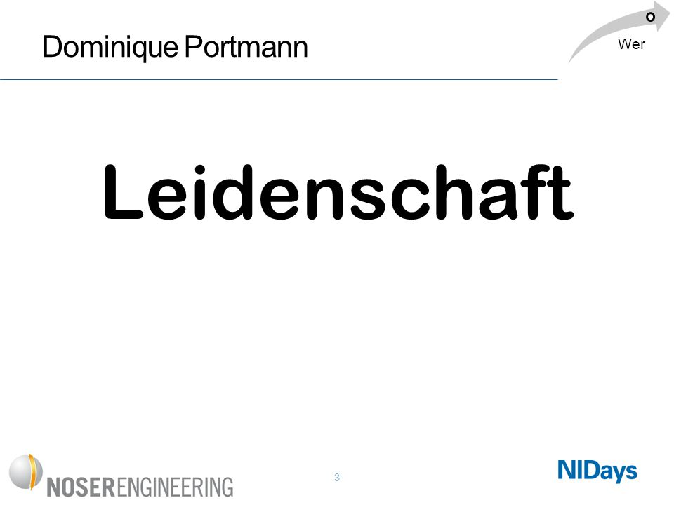 Leidenschaft Dominique Portmann Wer Dominique: