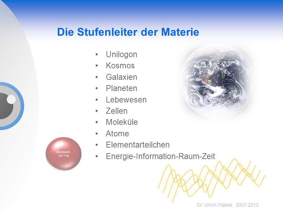 Die Stufenleiter der Materie