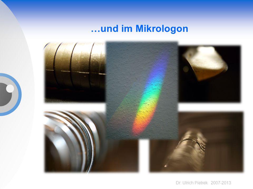 …und im Mikrologon