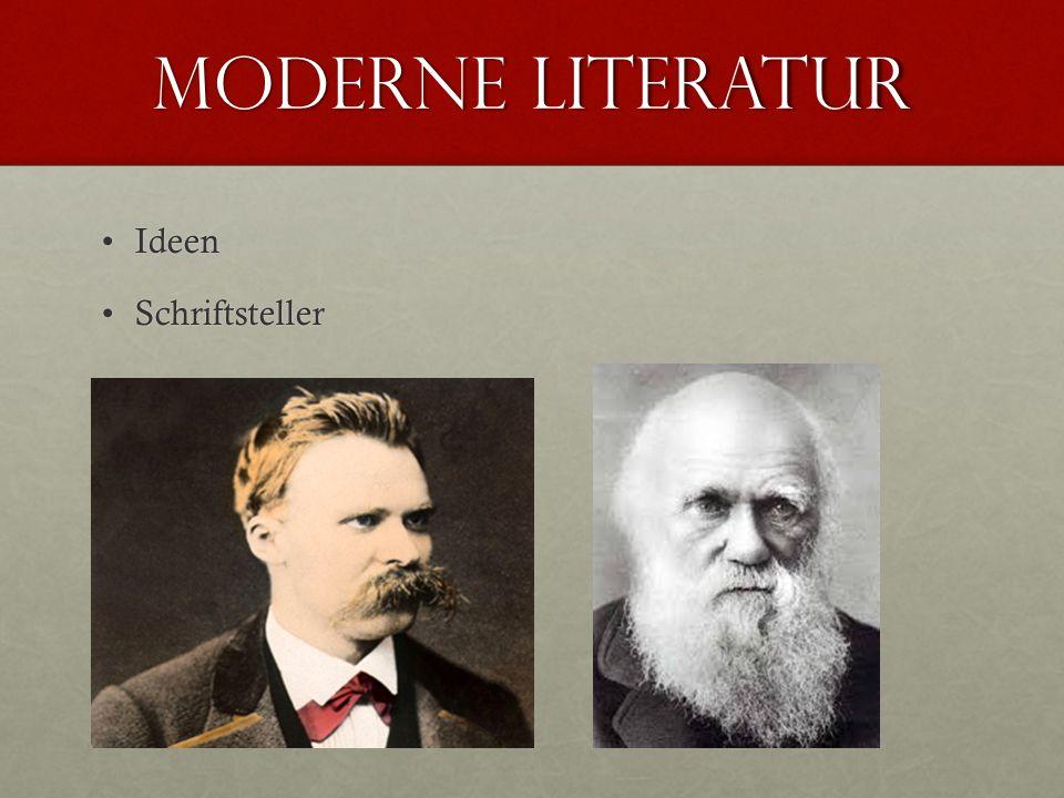 Moderne literatur Ideen Schriftsteller