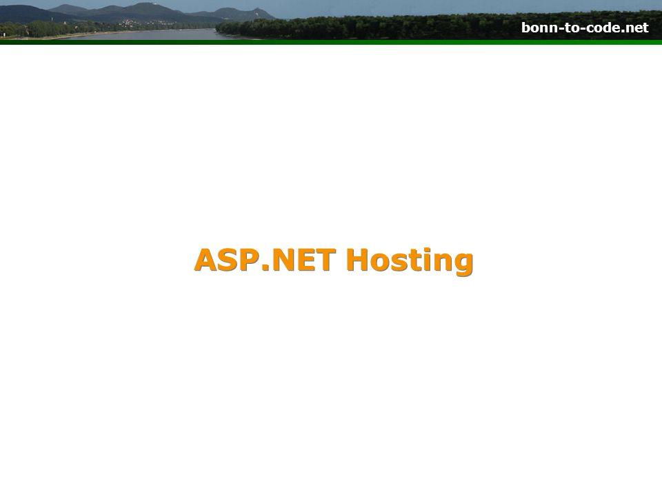 ASP.NET Hosting