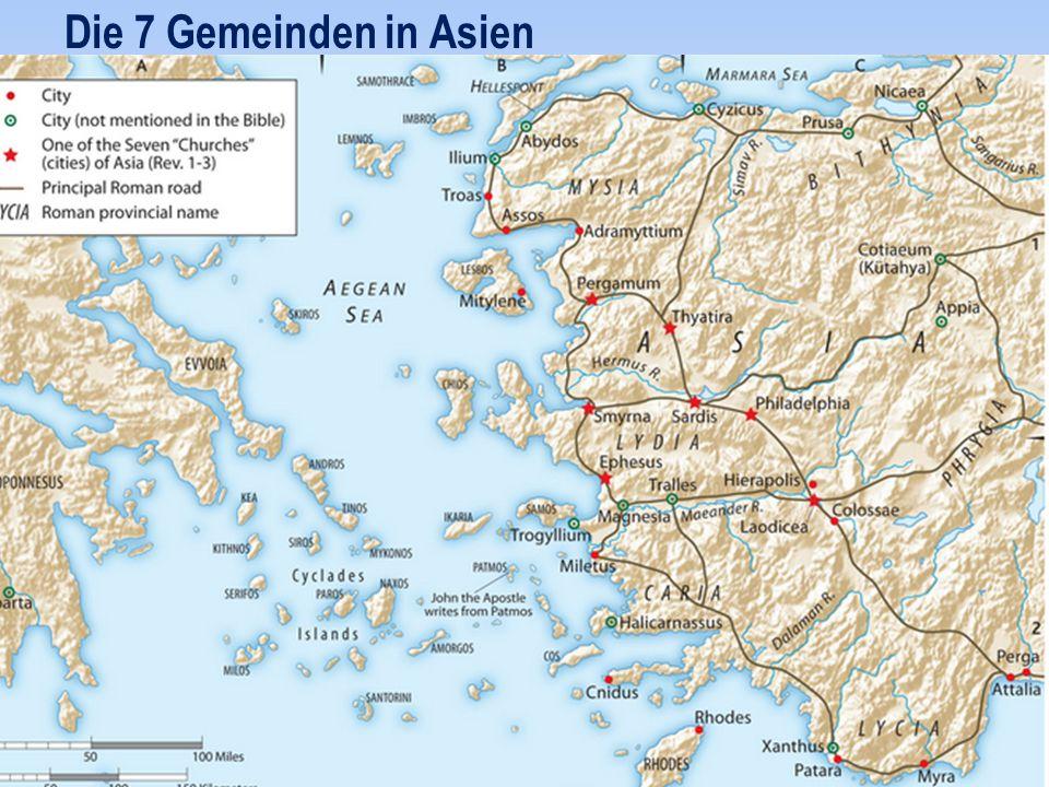 Die 7 Gemeinden in Asien