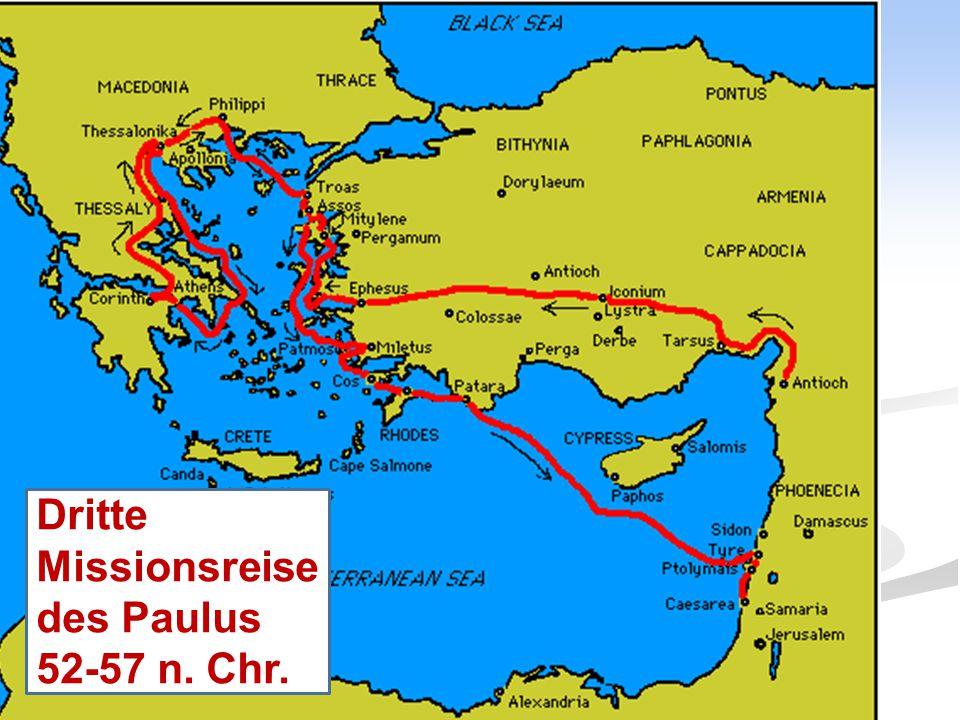 Dritte Missionsreise des Paulus