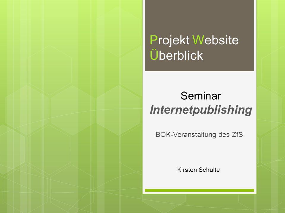 Seminar Internetpublishing