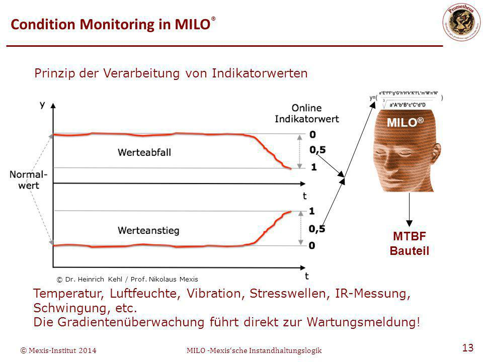 Condition Monitoring in MILO®