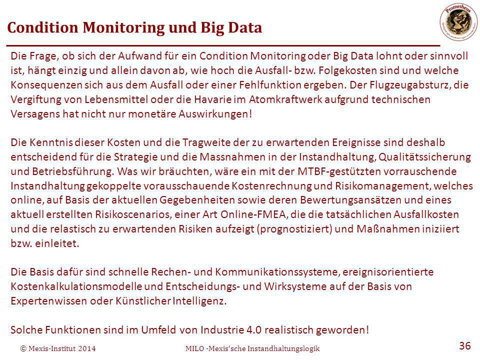 Condition Monitoring und Big Data