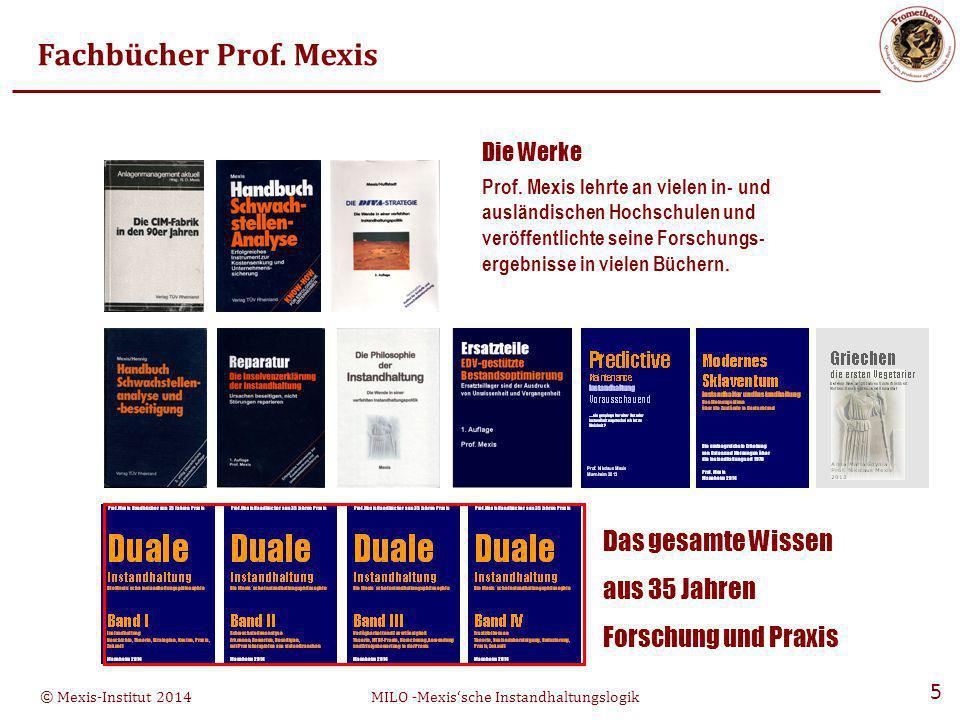 Die Werke Fachbücher Prof. Mexis Das gesamte Wissen aus 35 Jahren
