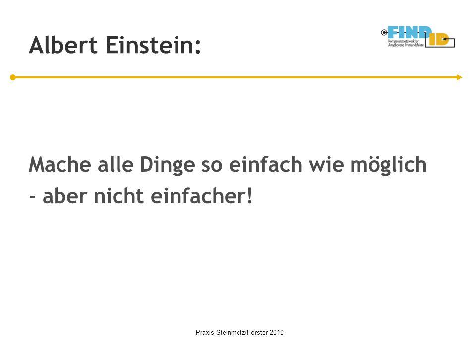 Praxis Steinmetz/Forster 2010