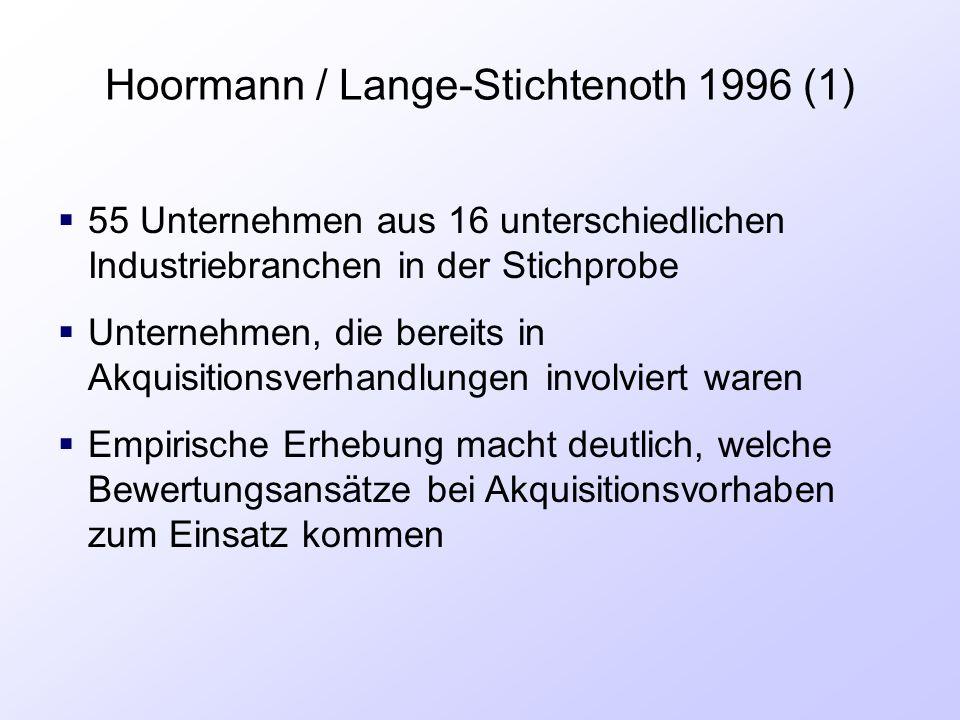 Hoormann / Lange-Stichtenoth 1996 (1)