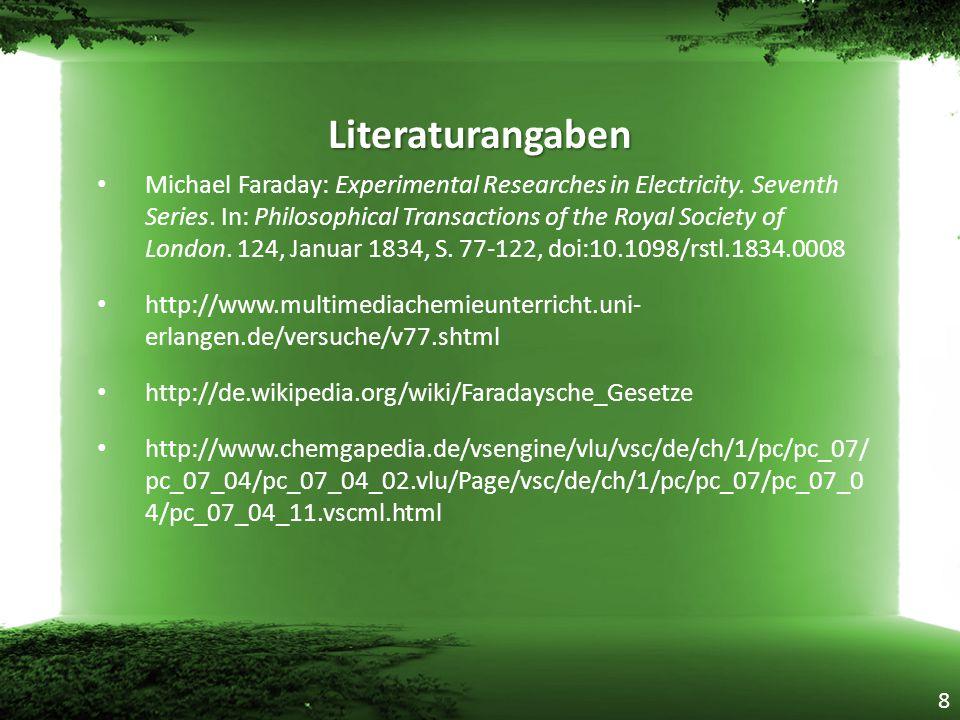 Literaturangaben
