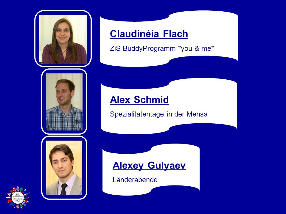 Claudinéia Flach Alex Schmid Alexey Gulyaev