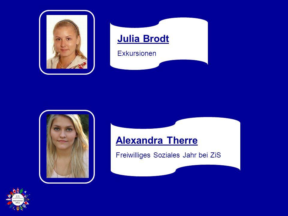Julia Brodt Alexandra Therre Exkursionen