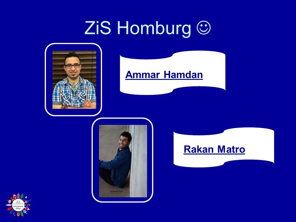 ZiS Homburg  Ammar Hamdan Rakan Matro