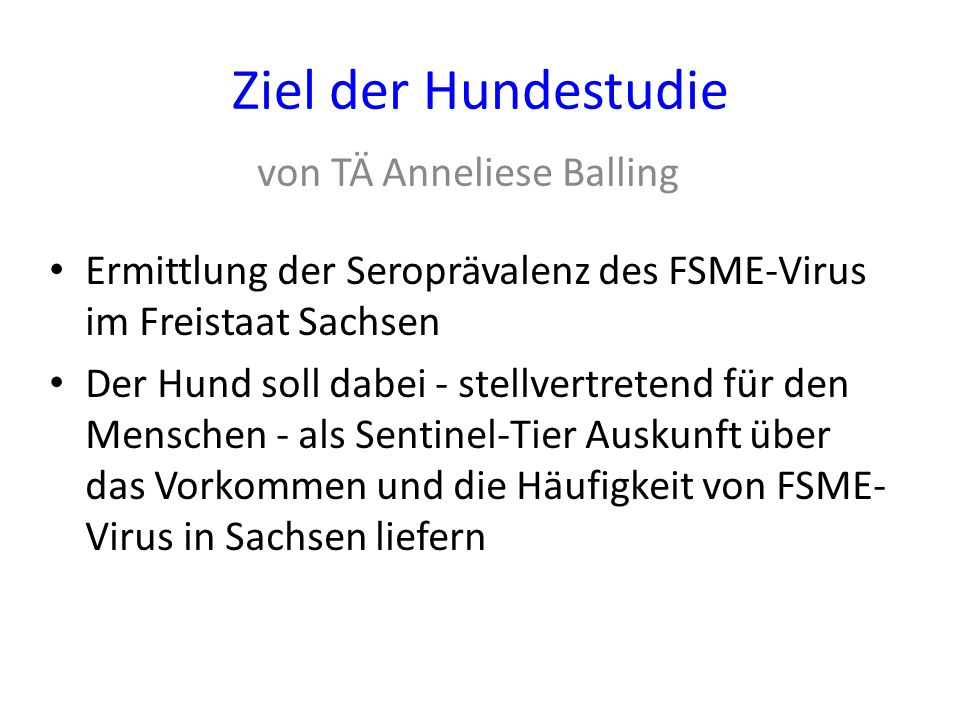 von TÄ Anneliese Balling