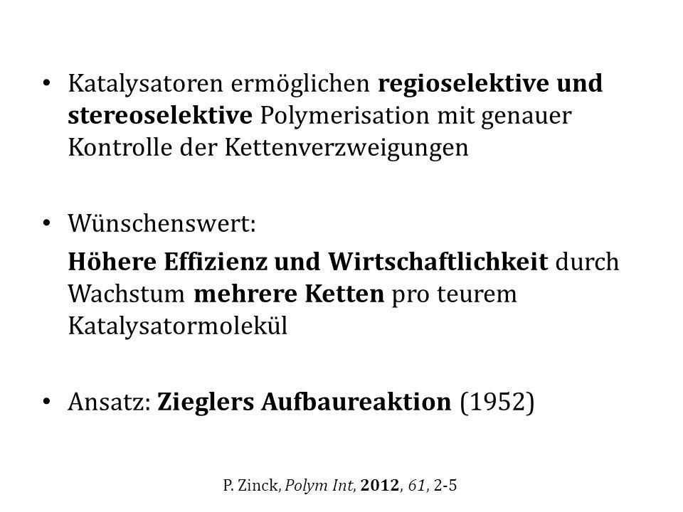 Ansatz: Zieglers Aufbaureaktion (1952)