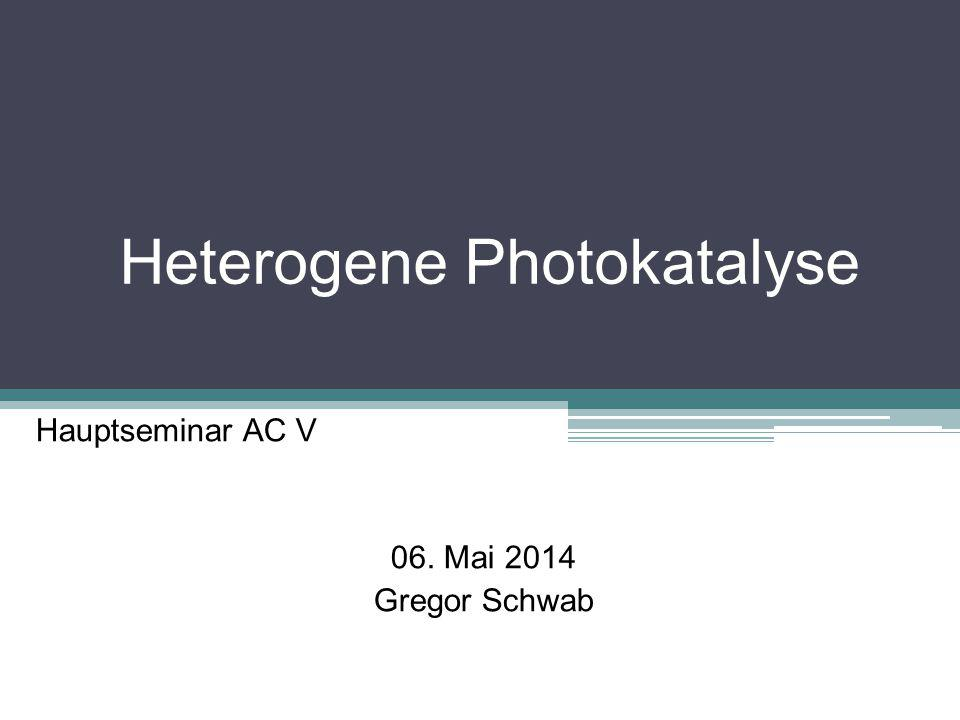 Heterogene Photokatalyse