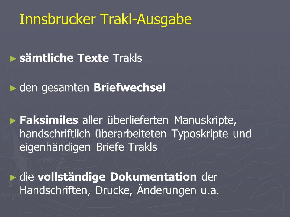 Innsbrucker Trakl-Ausgabe