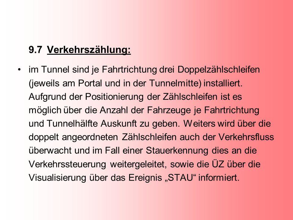 9.7 Verkehrszählung: