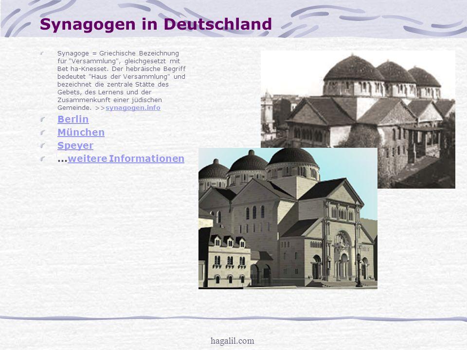 Synagogen in Deutschland