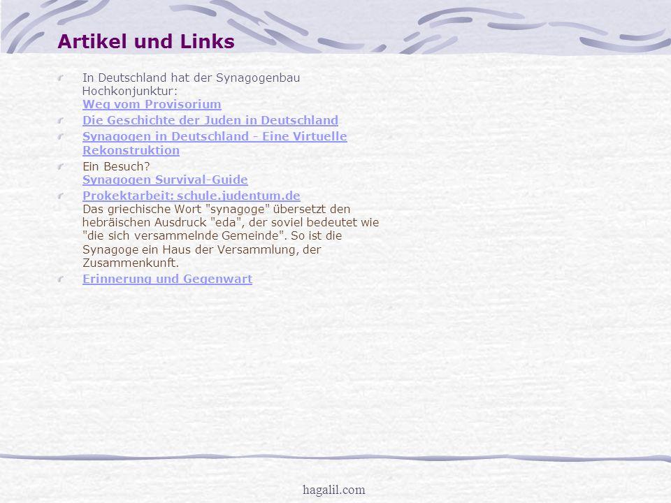 Artikel und Links hagalil.com