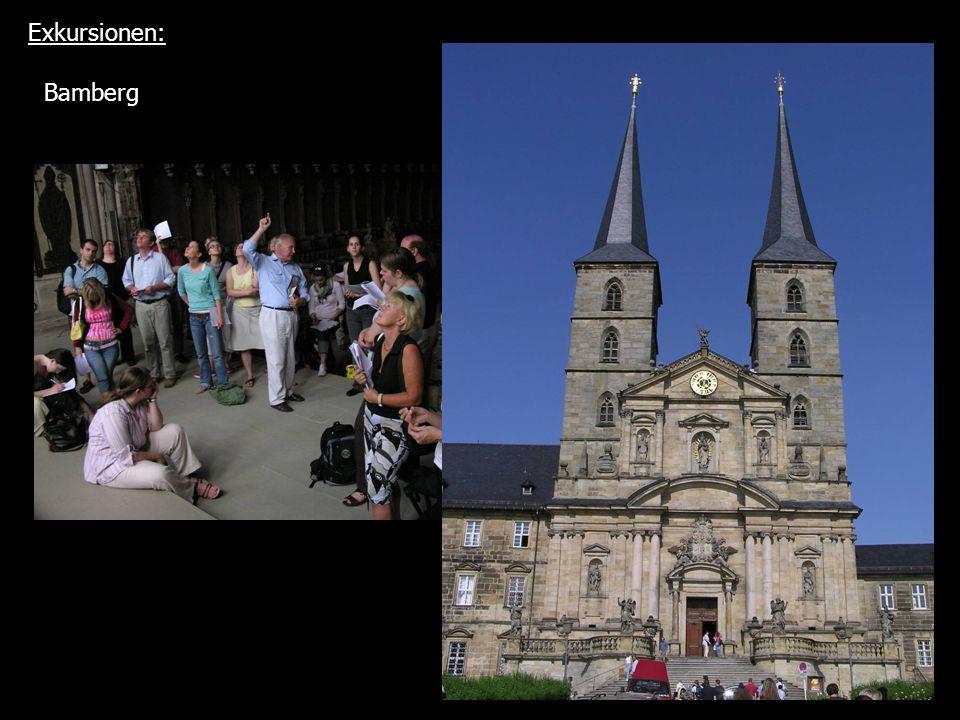 Exkursionen: Bamberg