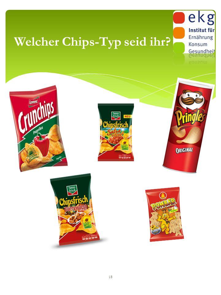 Welcher Chips-Typ seid ihr