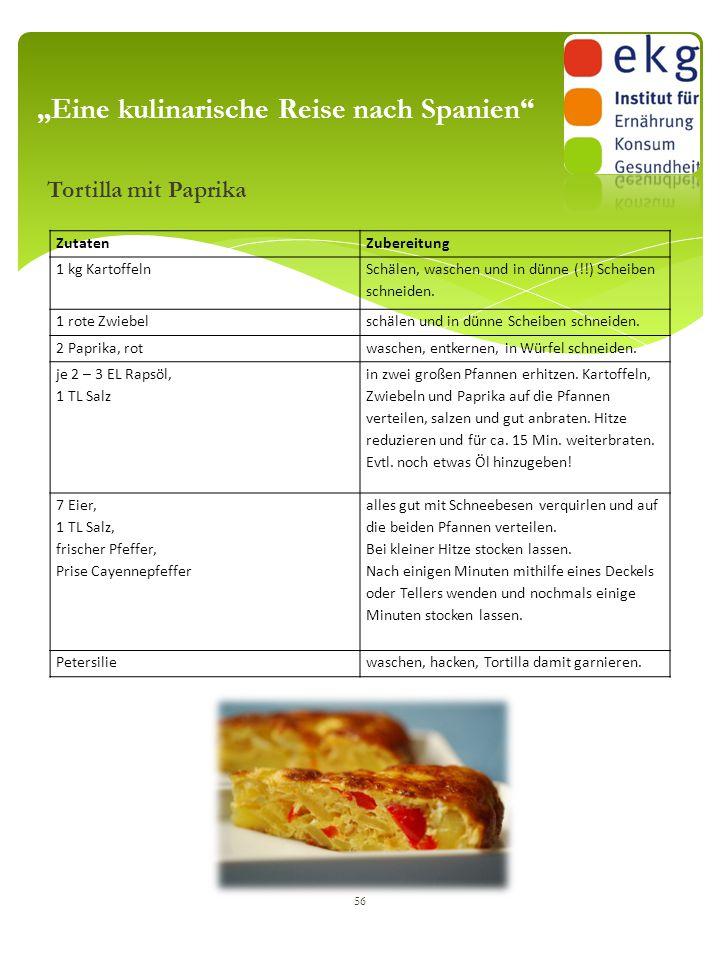 """""""Eine kulinarische Reise nach Spanien"""