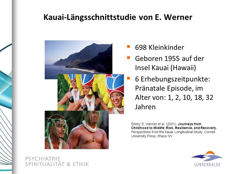 Kauai-Längsschnittstudie von E. Werner