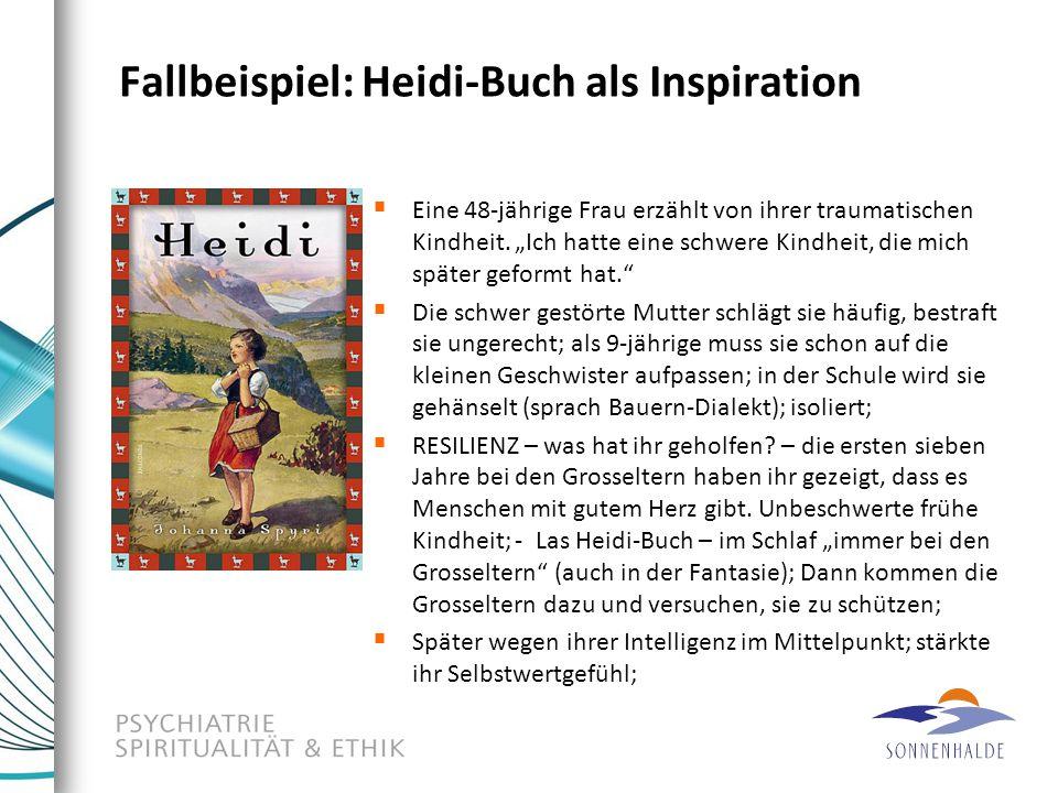 Fallbeispiel: Heidi-Buch als Inspiration