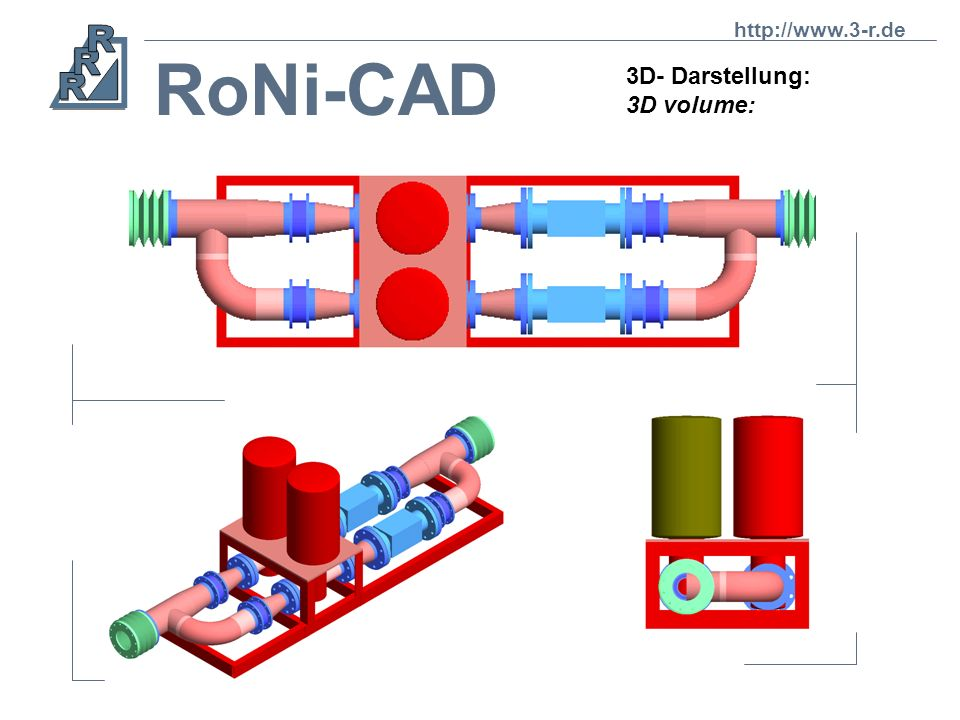 http://www.3-r.de RoNi-CAD 3D- Darstellung: 3D volume: