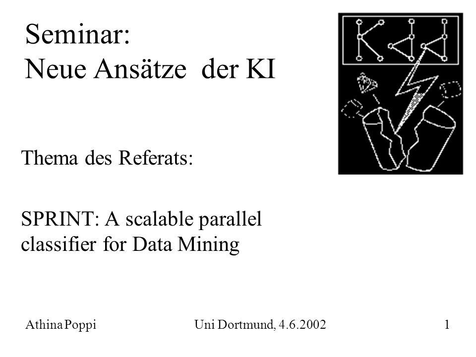 Seminar: Neue Ansätze der KI