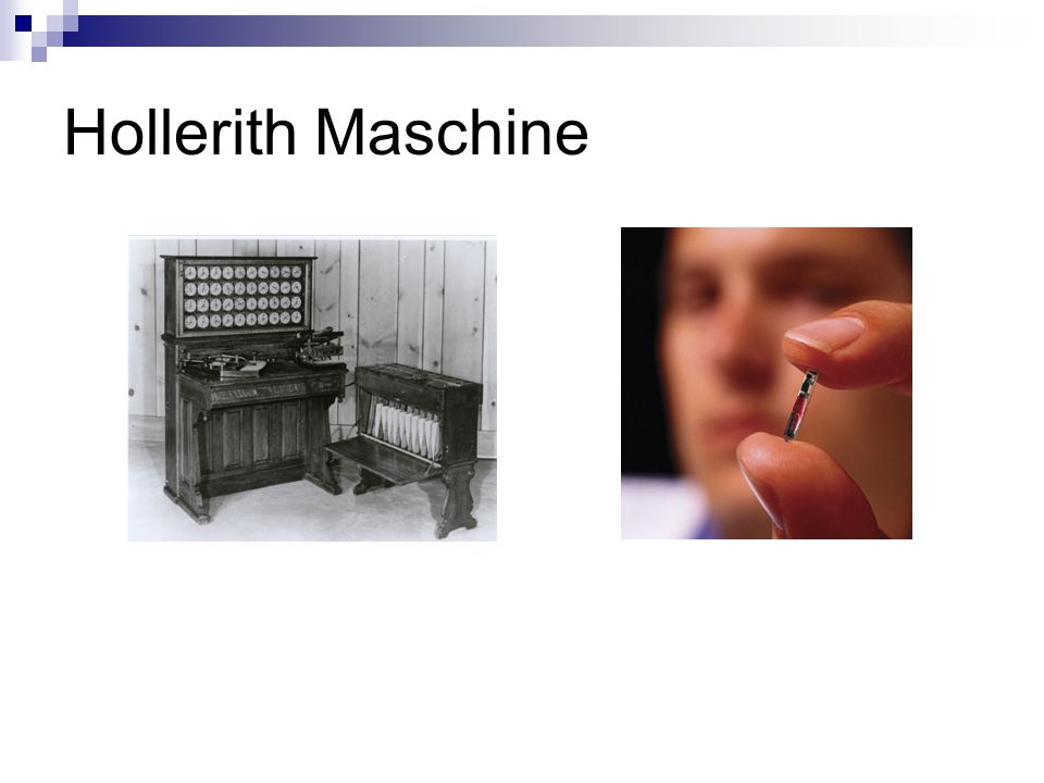 Hollerith Maschine