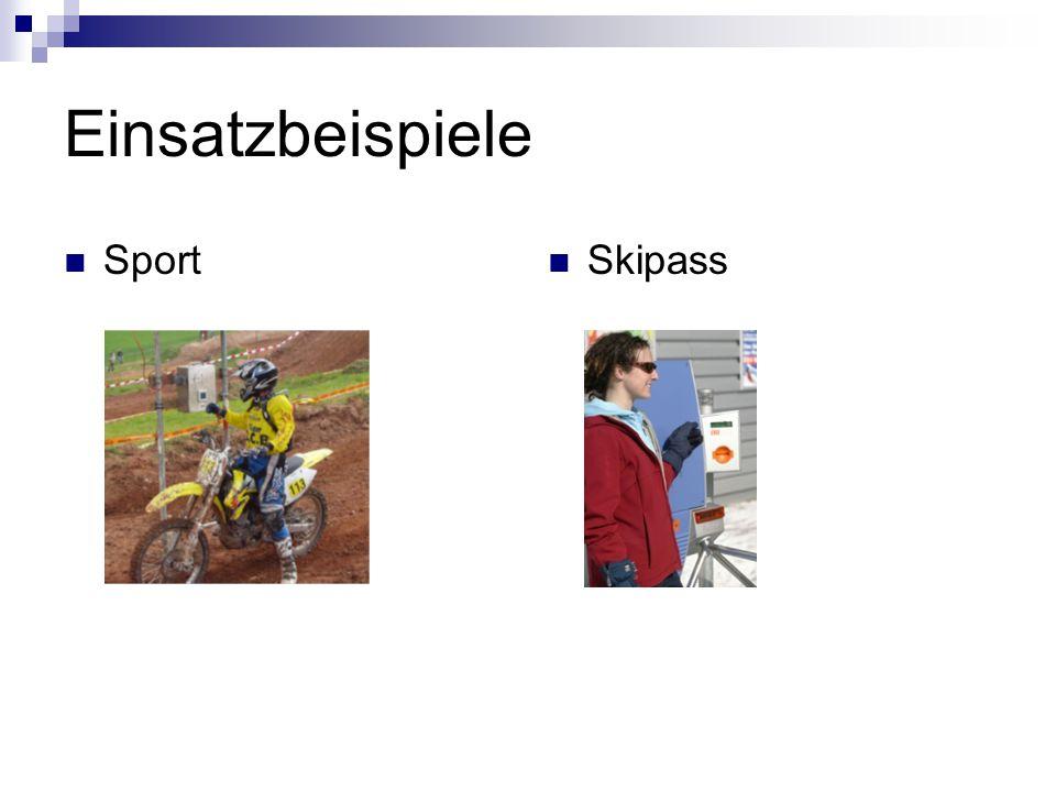 Einsatzbeispiele Sport Skipass