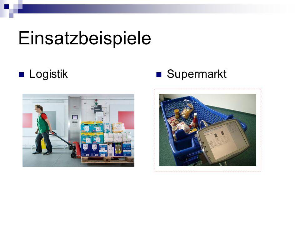 Einsatzbeispiele Logistik Supermarkt