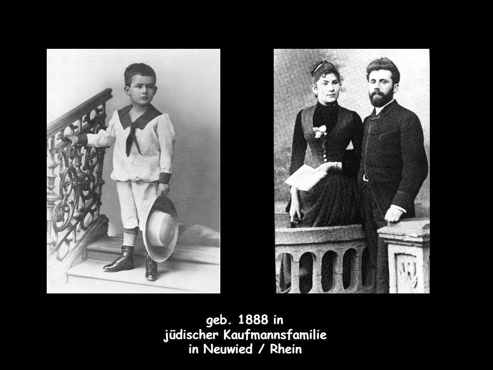 jüdischer Kaufmannsfamilie
