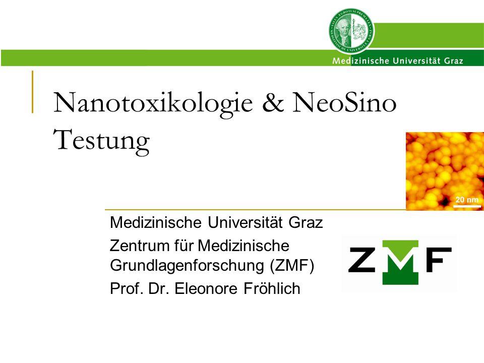 Nanotoxikologie & NeoSino Testung