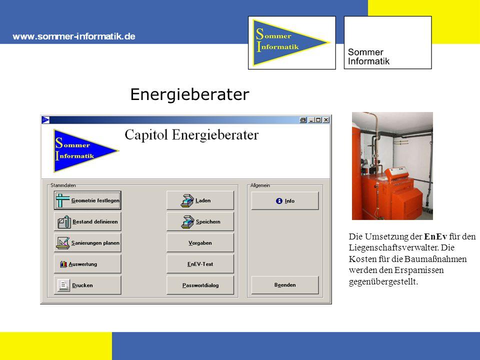 Energieberater Die Umsetzung der EnEv für den