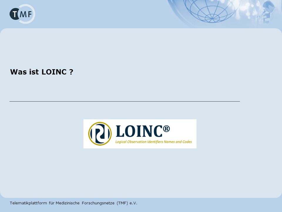 Was ist LOINC