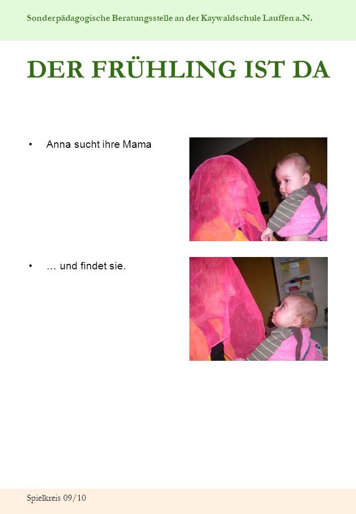 DER FRÜHLING IST DA Anna sucht ihre Mama … und findet sie.