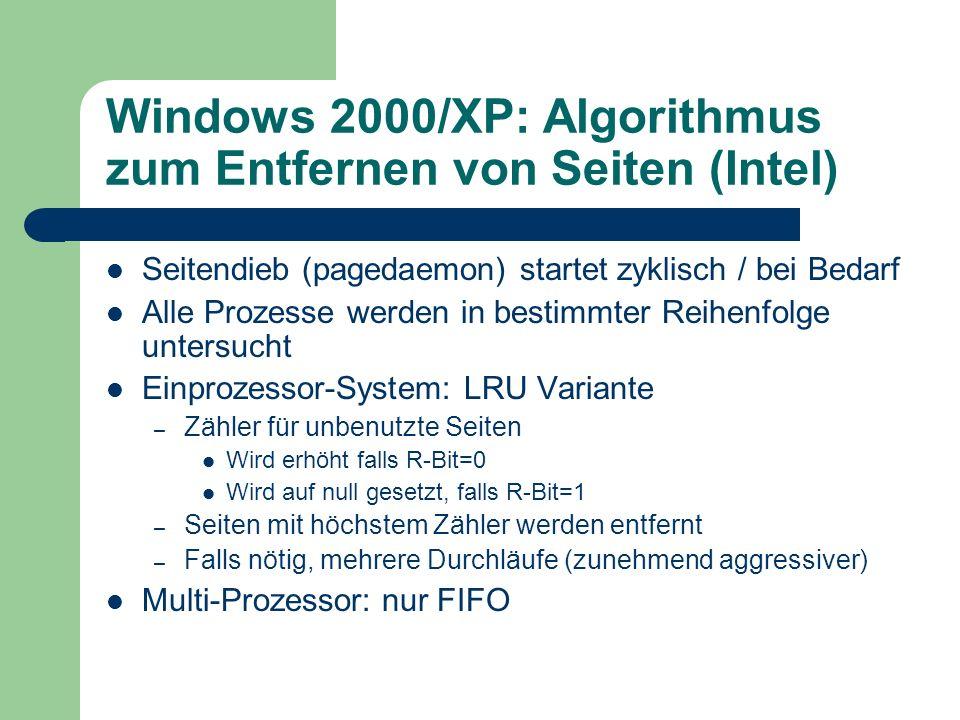 Windows 2000/XP: Algorithmus zum Entfernen von Seiten (Intel)