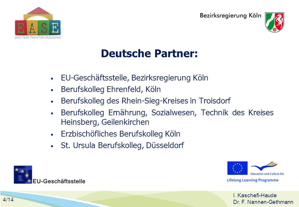 Deutsche Partner: EU-Geschäftsstelle, Bezirksregierung Köln